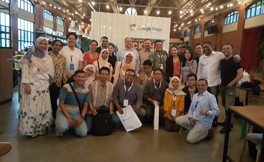 Bersama Vice President of Google Maps